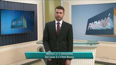 Umuarama e São Lucas perdem pela Chave Ouro de Futsal - Os dois times jogaram na noite da última terça-feira, 29. Umuarama perdeu fora de casa, e o São Lucas foi derrotado em Paranavaí.