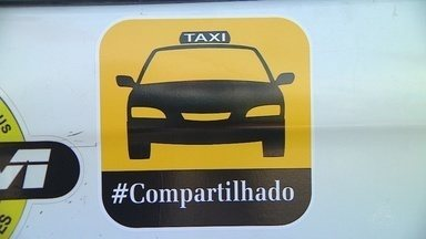 Taxistas iniciam corridas compartilhadas em Manaus - Valor da corrida é dividido entre passageiros.