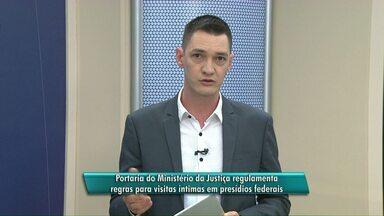 Ministério da Justiça regulamenta visitas íntimas em presídios - Os presos com bom comportamento ou que fizeram delação premiada terão direito a visita íntima.
