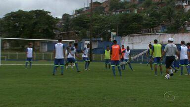 De olho na liderança, CSA volta aos treinos no Mutange - Azulão se prepara para enfrentar o Salgueiro.