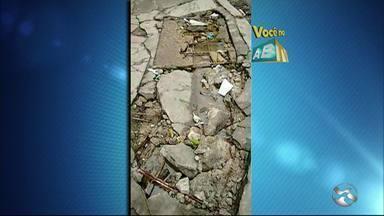 'Você no ABTV' mostra problemas em bairros de Caruaru - Reclamações são do centro da cidade e do bairro Indianápolis.