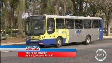 Defensoria pública que suspender reajuste da tarifa do transporte público em Taubaté - Órgão defende que repasse da prefeitura à empresa é ilegal.