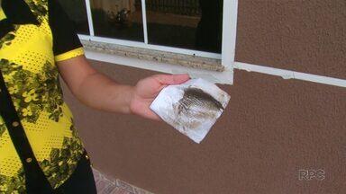 IAP notifica indústria por emissão de fuligem em Guarapuava - Foram os moradores que denunciaram.