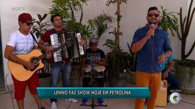 Cantor Lenno está em carreira solo e faz show em Petrolina- Parte 1 - Hoje será dia de sofrência em Petrolina.