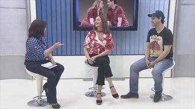 Bruno Garcia e Alexandra Richter falam sobre peça 'A História de Nós Dois' - Atores apresentaram pela em Porto Velho neste fim de semana.
