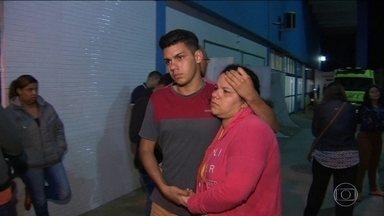 Menino baleado em arrastão no RJ está em estado gravíssimo - Renan dos Santos Macedo, de 8 anos, foi atingido na cabeça quando o pai tentou fugir de um arrastão em Duque de Caxias, e os bandidos atiraram várias vezes.