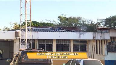 Presos fazem agente penitenciário refém e fogem da cadeia de Maringá - 19 presos fugiram da cadeia