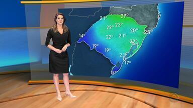 Tempo: instabilidade deve atingir a maior parte do RS na terça-feira (5) - Assista ao vídeo.