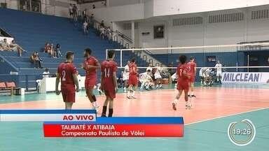 Taubaté recebe o Atibaia pelo campeonato Paulista de vôlei - Jogo é importante para o Taubaté seguir para semifinal.