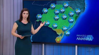 Tempo: terça-feira (12) será de instabilidade no RS - Tempo fica nublado na maior parte do estado.