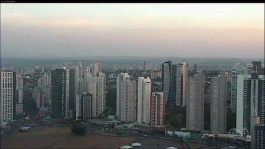Goiás não tem previsão de chuva para os próximos dias - Massa de ar seco atua com força fazendo a temperatura variar bastante.