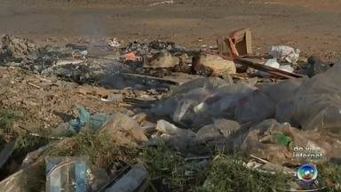 Prefeitura de Araçatuba tem gasto de quase R$ 2 milhões com limpeza de lixo em terrenos - O Bom Dia Cidade sempre exibe as reclamações dos moradores de toda a região por causa do lixo jogado em terrenos abertos. A prefeitura de Araçatuba (SP) fez um levantamento e descobriu que gasta quase R$ 2 milhões por ano para limpar e recolher lixo em áreas impróprias.