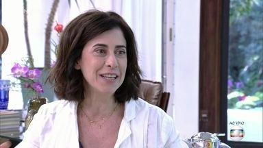 Ana Maria recebe Fernanda Torres - Atriz fala sobre seus hábitos alimentares e conta adora cozinhar