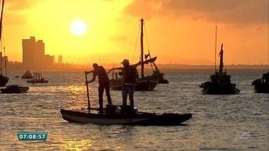 Praia do Mucuripe reúne público com opção de lazer e entretenimento - Saiba mais em g1.com.br/ce