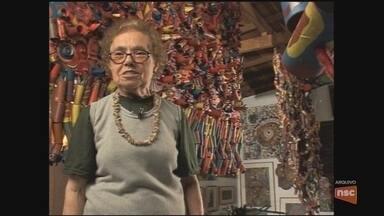 Artista plástica Eli Heil morre em Florianópolis - Artista plástica Eli Heil morre em Florianópolis