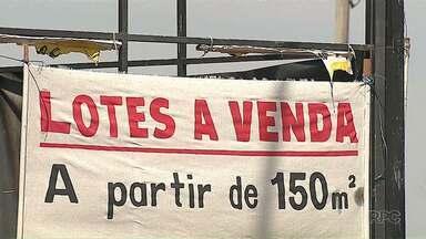 Venda de lotes tem crescimento em Ponta Grossa - A quantidade de terrenos à venda neste ano já é maior que a do ano passado todo.