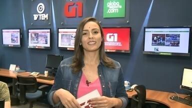 Natália de Oliveira traz os assuntos do G1 Rio Preto e Araçatuba no TEM Notícias - Natália de Oliveira traz os assuntos do G1 Rio Preto e Araçatuba no TEM Notícias 1ª edição.