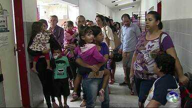 Começa campanha de atualização da caderneta de vacinação em Caruaru - Campanha Nacional de Multivacinação, que será realizada em todas as unidades básicas de Saúde.