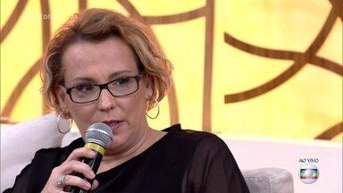 Ana Beatriz Nogueira fala da peça 'Um Pai (Puzzle)' - Atriz interpreta filha de Jacques Lacan