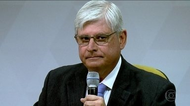 'Só resta aos investigados atacar os investigadores', diz procurador-geral - Segundo Janot, quando se enfrenta a corrupção 'pernas tremem'. Mais de 70 entidades se unem em campanha contra a corrupção.