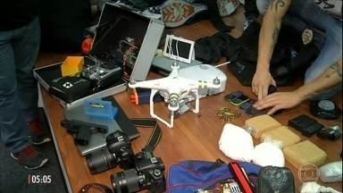 Quadrilha usava drone para monitorar casas que seriam roubadas em SP - Em duas semanas os ladrões conseguiram invadir 15 residências na Zona Leste da capital paulista.