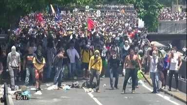 Nicolás Maduro anuncia retomada de diálogo com oposição na Venezuela - O presidente disse que as conversas começam nesta quarta-feira (13), na República Dominicana. Mas um representante da oposição desmentiu a notícia.