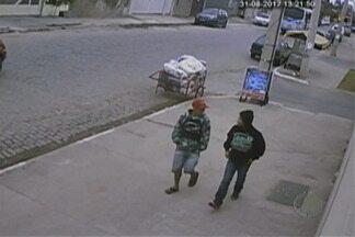 Imagens podem ajudar na investigação de idoso desaparecido de Suzano - Homens foram filmados quando deixavam carro do idoso em condomínio.