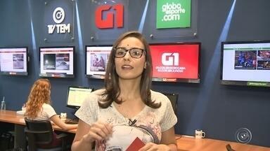 Natália de Oliveira traz os destaques do G1 Sorocaba e Jundiaí nesta quarta-feira - A repórter Natália de Oliveira traz os destaques do G1 Sorocaba e Jundiaí nesta quarta-feira (13).