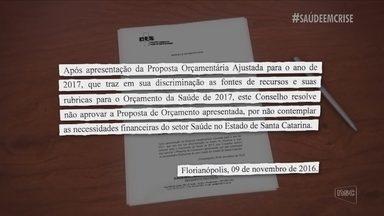 Documento mostra que verba para saúde seria insuficiente para 2017 - Documento mostra que verba para saúde seria insuficiente para 2017