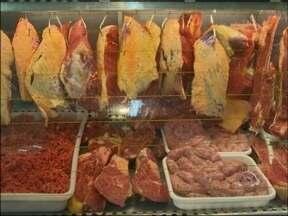 Venda de carne aumenta durante a semana farroupilha em Passo Fundo, RS - Expectativa de aumento é de seis por cento.