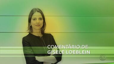 Gisele Loeblein comenta manifestações feitas no RS por produtores de leite - Assista ao vídeo.