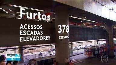 Casos de furto nas estações e trens da CPTM e do Metrô aumentam - Entre janeiro e agosto foram registrados 1405 casos.