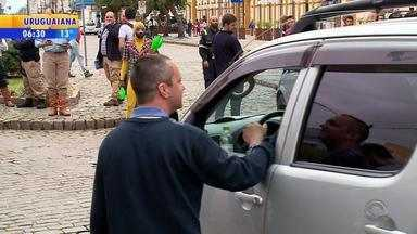 Pelotas tem série de ações para conscientizar motoristas - Essa é a Semana Nacional do Trânsito.