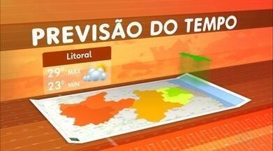 Veja a previsão do tempo para esta terça-feira - Confira como fica o tempo em cada região. Veja também os bairros onde faltará água hoje, em João Pessoa.