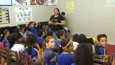 Palestras educativas orientam crianças sobre a prática do trabalho infantil em Santarém - Palestras ocorrem desde 8 de agosto através do projeto Ações Estratégicas do programa Erradicação do trabalho Infantil.
