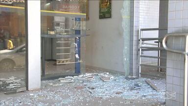 Polícia continua busca por suspeitos de explodirem banco em Codó - Polícia continua busca por suspeitos de explodirem banco em Codó