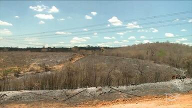 Incêndio destrói áreas de preservação ambiental no interior do Maranhão - Incêndio destrói áreas de preservação ambiental no interior do Maranhão