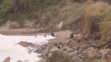 Prefeitura da capital deve solicitar recursos federais para reconstrução das praias - Prefeitura da capital deve solicitar recursos federais para reconstrução das praias