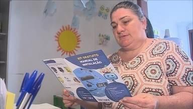 Famílias cadastradas em programas sociais receberão kits de TV digital - Famílias cadastradas em programas sociais receberão kits de TV digital