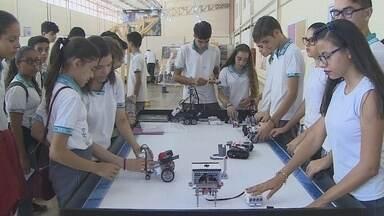 Mundo senai recebe visitantes e alunos - Diversas atividades foram ensinadas.