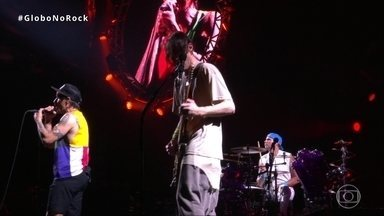 Red Hot Chili Peppers canta 'Snow (Hey Oh)' no Palco Mundo do Rock in Rio - Red Hot Chili Peppers canta 'Snow (Hey Oh)' no Palco Mundo do Rock in Rio