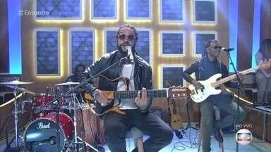 Rael abre o 'Encontro' com música - Cantor está em turnê com um show em homenagem a Vinícius de Moraes