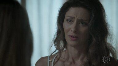 Joyce pede que Simone acompanhe Ivan a uma consulta médica - Irene provoca a socialite