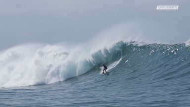 Despedida Do Havaí Com Swell Grande