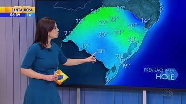 Tempo: sexta-feira (29) começa com baixas temperaturas no RS - Máximas ficam na casa dos 20ºC no estado.