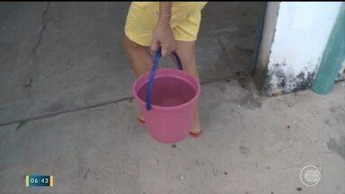 Cidades no interior do Piauí convivem com abastecimento irregular de água - Cidades no interior do Piauí convivem com abastecimento irregular de água