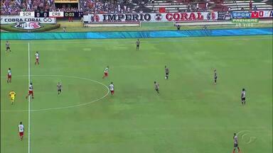 Em busca da reabilitação, CRB enfrenta o Londrina nesta sexta-feira - Galo não vence há quatro partidas.