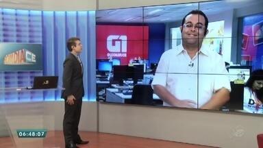 Veja os destaies do G1 do Bom Dia CE desta sexta-feira (29) - Saiba mais em g1.com/ce