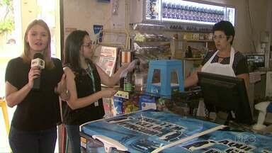 Caixa de sugestões da Redação Móvel está na bairro Santa Rosa, em Foz - Moradores podem participar.