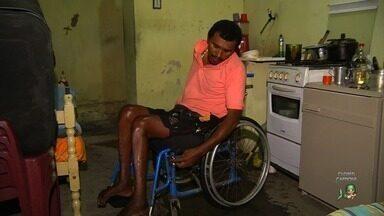 Espectador do CETV Cariri solicita de ajuda para uma nova cadeira de rodas - Saiba mais em g1.com/ce